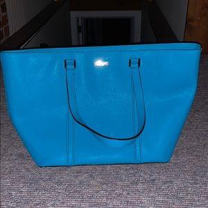 Teal Kate Spade purse